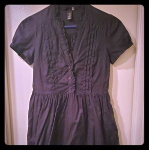 H&M Button Up Dress